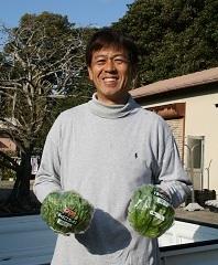 神戸レタス農家 安西淳さん