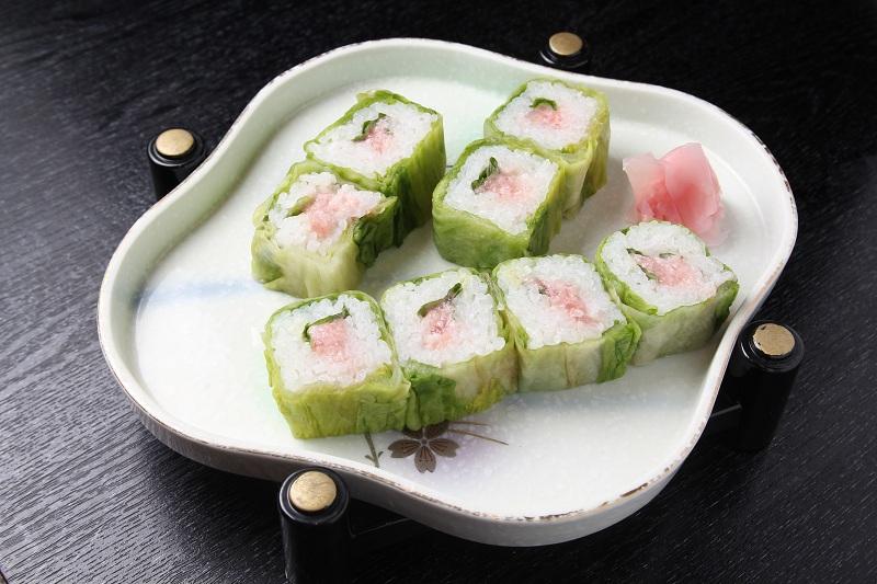 レタス巻寿司 若鈴
