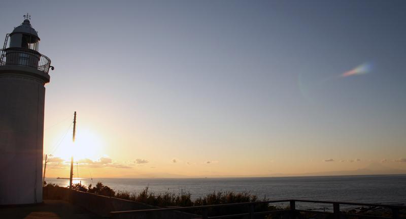 洲崎灯台からの眺望