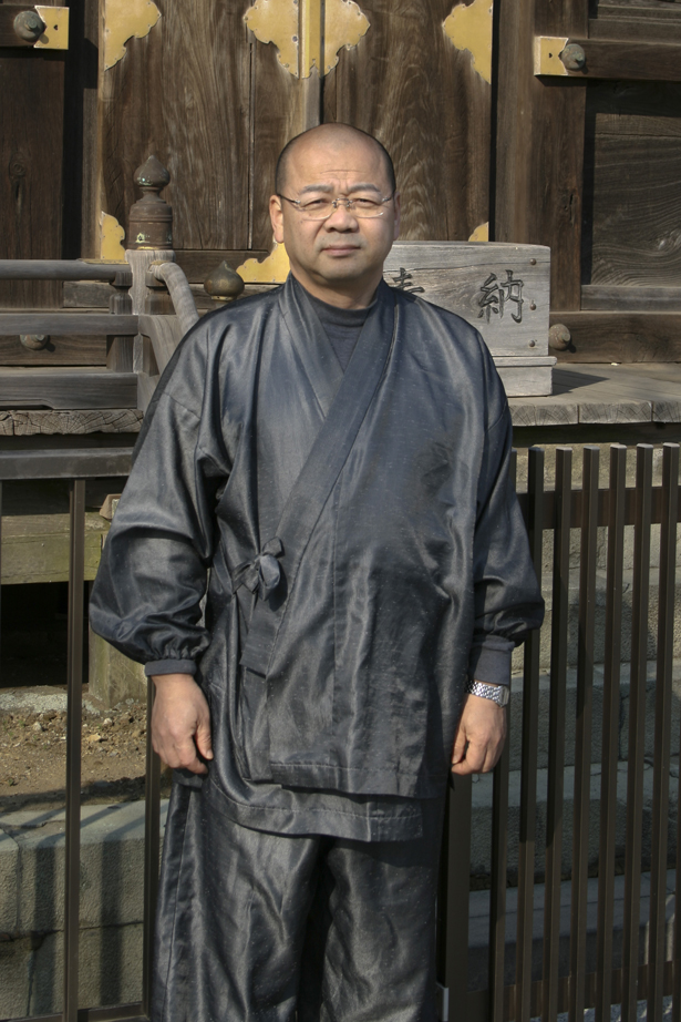 那古寺住職 石川良和さん