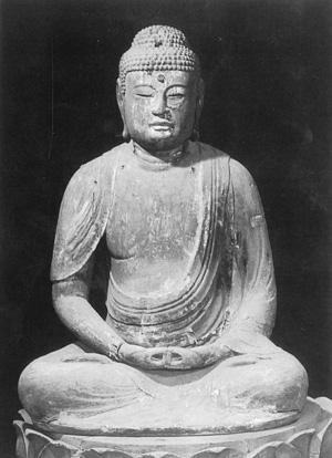 木造阿弥陀如来坐像 鎌倉時代 千葉県指定文化財