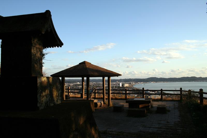 那古寺 潮見台からの眺望