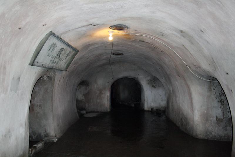 洲ノ埼海軍航空隊「戦闘指揮所」壕
