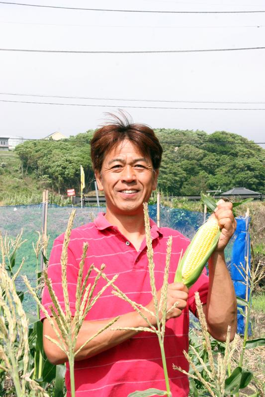 神戸地区農家 安西淳さん