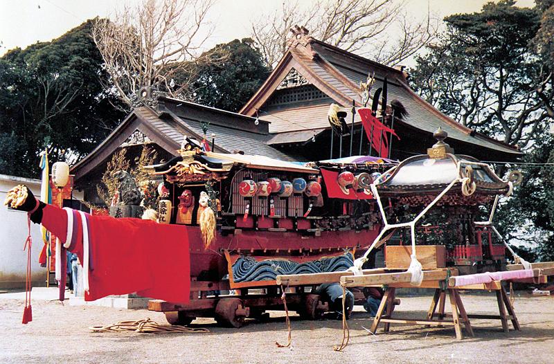 相濱神社の御輿