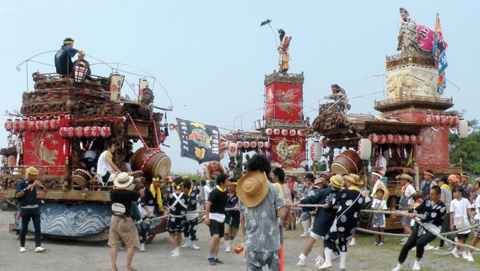 船形諏訪神社の例大祭