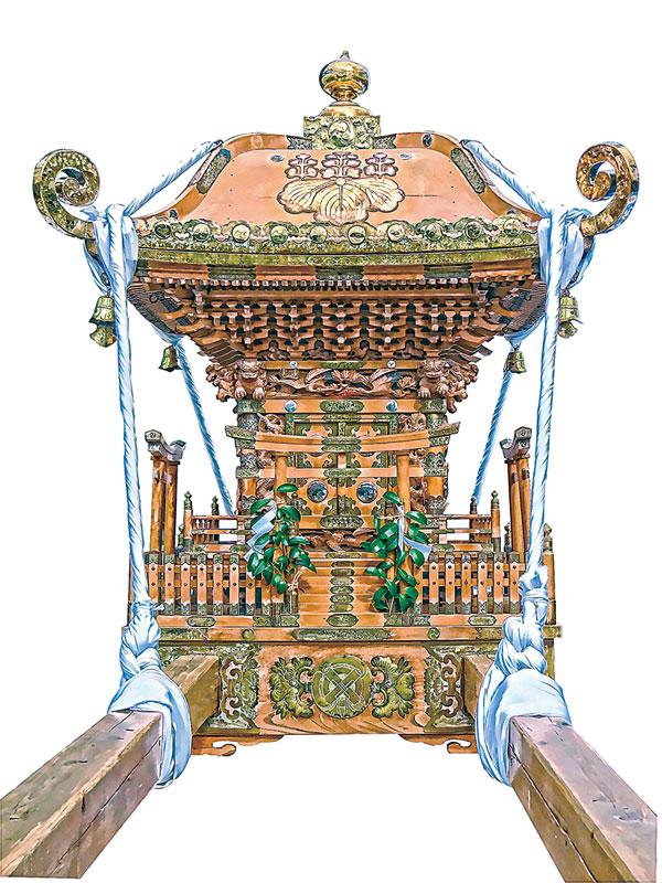 川崎 八雲神社の神輿