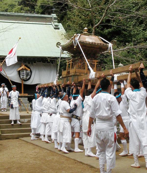 正木諏訪神社渡御