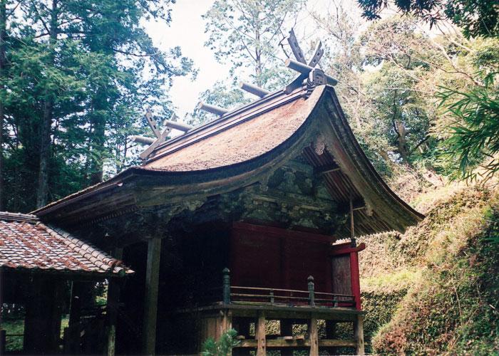 千葉県指定有形文化財の本殿