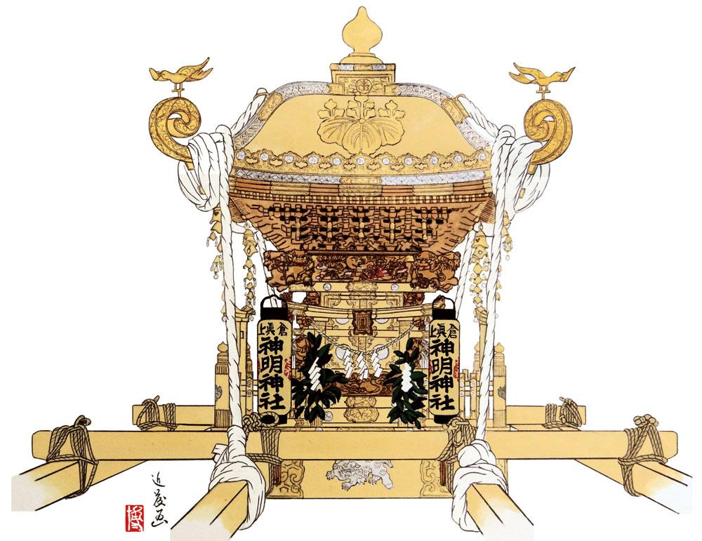 自慢の神輿