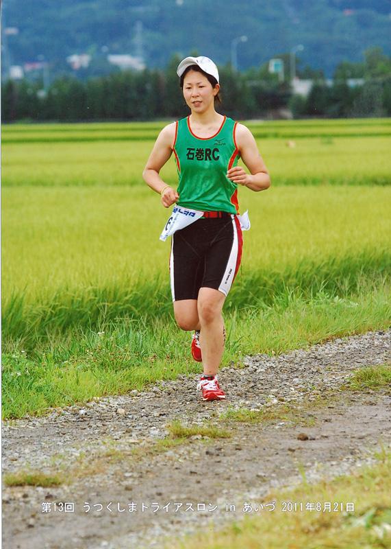 2011年うつくしまトライアスロンin会津①