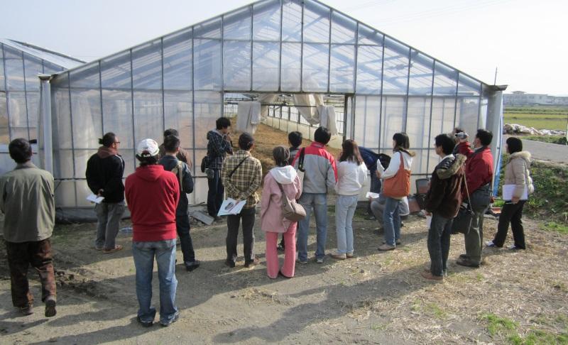 南房総ベジタブルによる若手農家巡りツアー