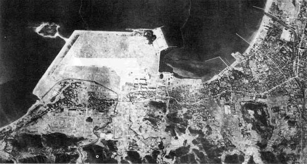 昭和31年の航空写真