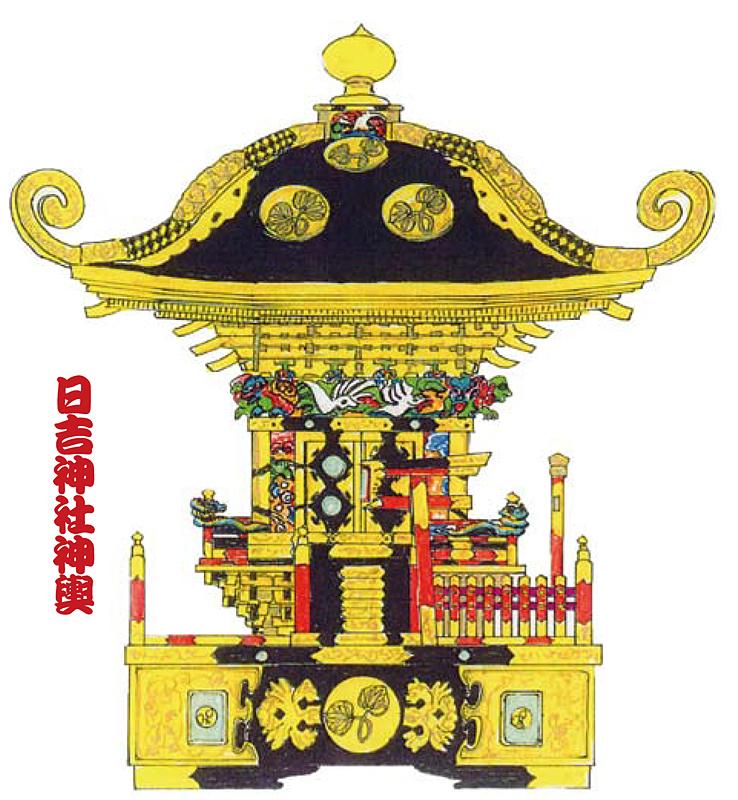 日吉神社神輿