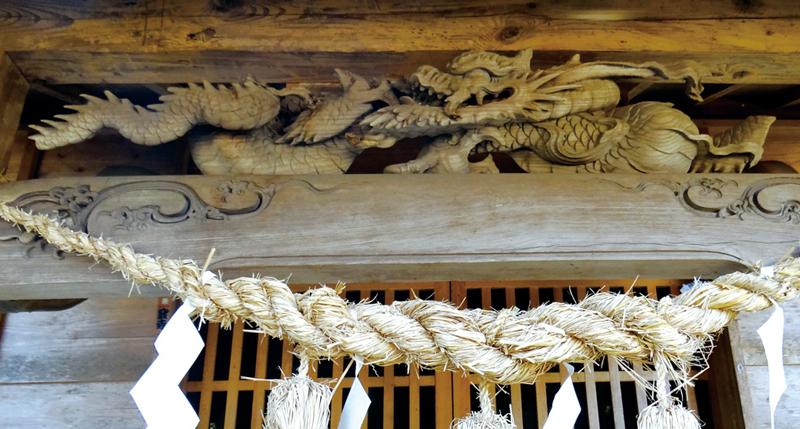 十二天神社の初代後藤義光の彫刻