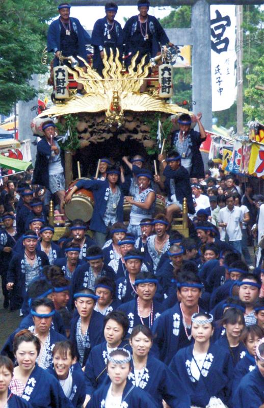 鶴谷八幡宮入祭